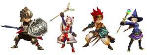 final fantasy explorers artwork 1 300x113 Final Fantasy Explorers (3DS) Logo, Artwork, Screenshots, & Official Website