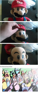 mario no hair 123x300 Afternoon LOL   The Hair Is A Lie