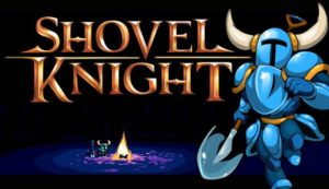 shovel knight logo1 300x173 GameSaga Plays Shovel Knight Twitch Live Stream Recording