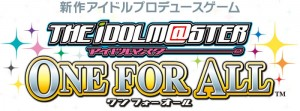 the idolm@ster one for all logo 300x111 The Idolm@ster: One For All Logo & Second Trailer