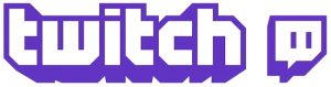 twitch logo 300x79 GameSaga Twitch Channel Launched