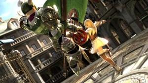 soulcalibur lost swords screen 3 300x168 SoulCalibur: Lost Swords (PS3) Logo, Artwork, Screenshots, & Trailers